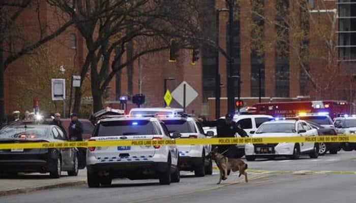 Eight hurt in Ohio State campus attack, alert over