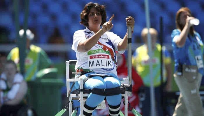 Haryana Khap felicitates Rio silver medal winning para-athlete Deepa Malik