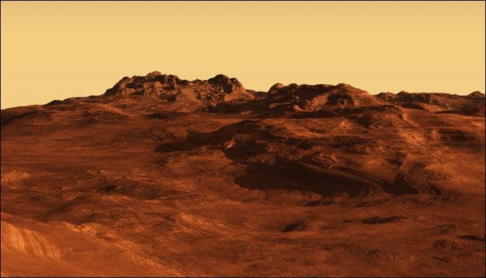 Deep canyons on Mars discovered to be carved out by liquid water triggered by climate change!