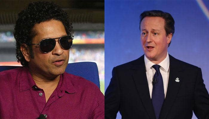 David Cameron wants to kidnap Sachin Tendulkar to train England cricket team