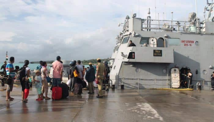 Andaman and Nicobar Islands: All 2,376 stranded tourists evacuated