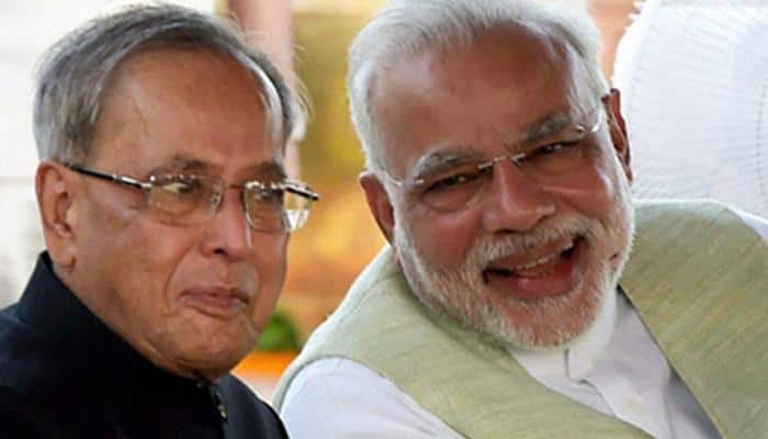 PM Modi wishes President Mukherjee on his 81st birthday, says he 'puts India's interest above everything'