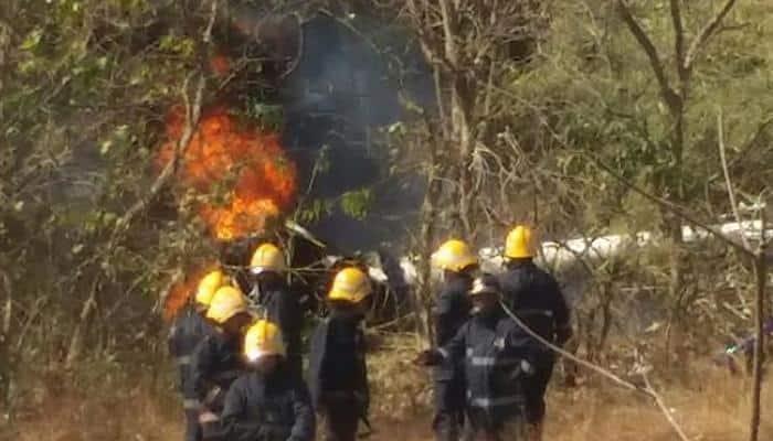 Mumbai helicopter crash: Joyride turns fatal in Goregaon's Aarey Colony; 1 dead, 3 injured