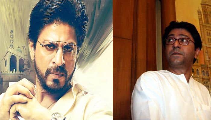 Shah Rukh Khan meets Raj Thackeray, clears rumours about Mahira promoting 'Raees'