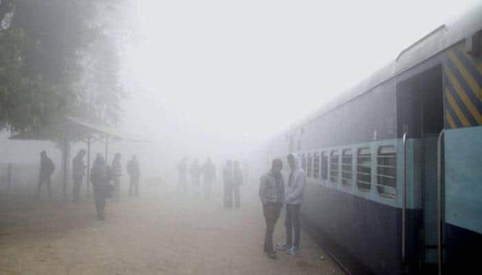 No relief from fog; 81 trains delayed, 6 cancelled