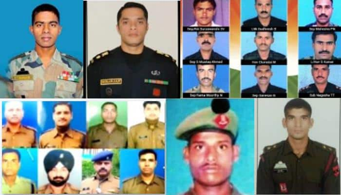 Armed forces heroes: SALUTE! These brave sons of the soil sacrificed their lives to protect India