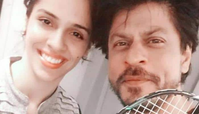 Nervous' Shah Rukh Khan wants to hold Saina Nehwal's hand – Find out why