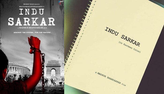 Madhur Bhandarkar shares first poster of 'Indu Sarkar', seeks blessings