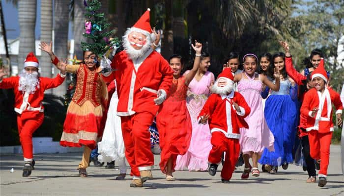 Christmas Festival In India.Christmas Celebration Grips The Nation Midnight Mass