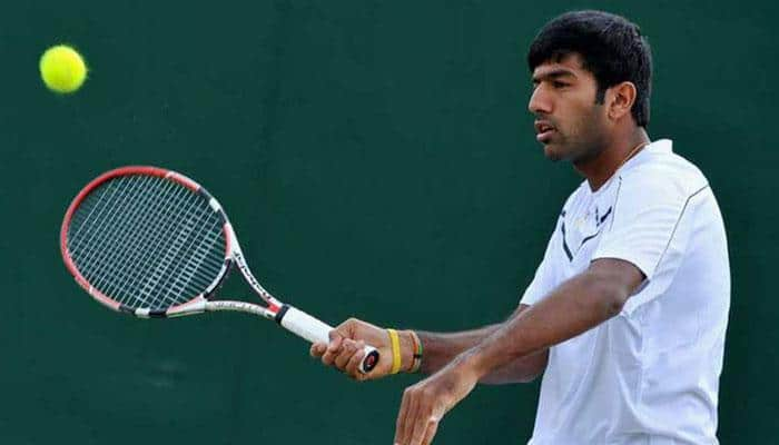 Rohan Bopanna dropped from India's Davis Cup squad, Saketh Myneni to partner Leander Paes