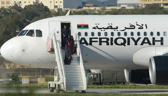 Libyan jet hijack drama ends in Malta, hostages released