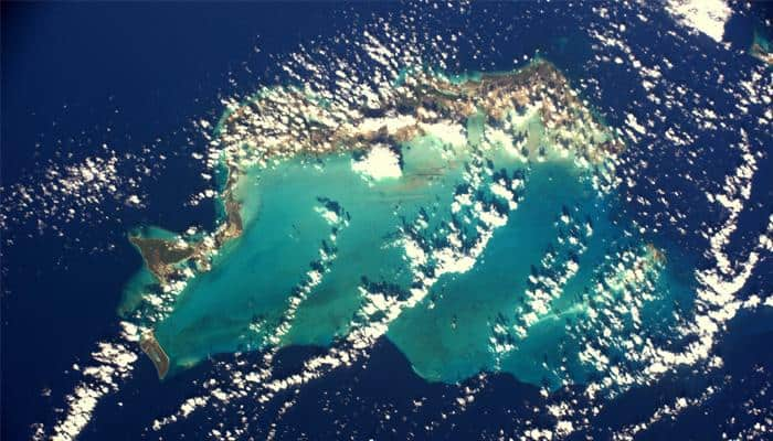 Caribbean looks magical from space station! French astronaut Thomas Pesquet shares the pic