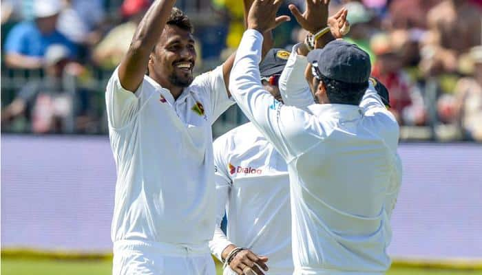 SA vs SL, 1st Test: Suranga Lakmal's four wickets gives Lankans edge on first day