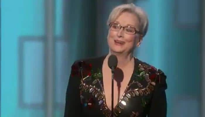 Golden Globe Awards: Meryl Streep slams Donald Trump during her acceptance speech
