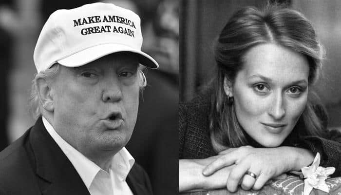 This is how Donald Trump reacted to Meryl Streep's criticism