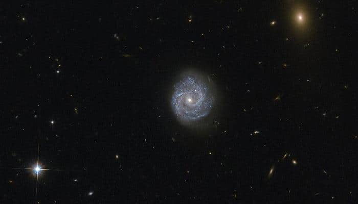 Hubble spots beautiful spiral galaxy that presents an interesting puzzle – See pic!