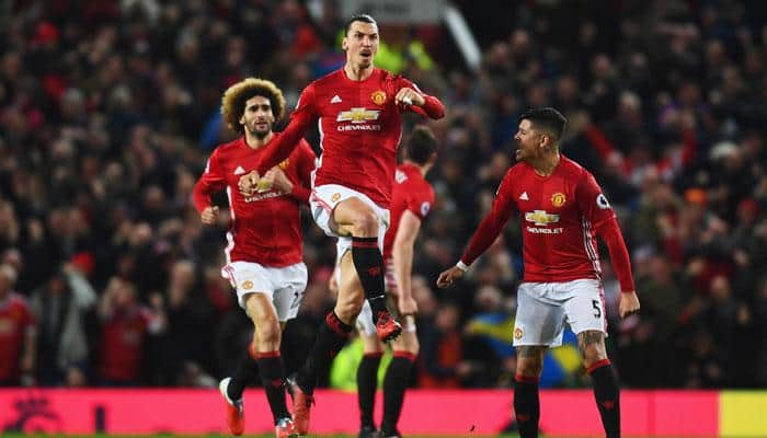 Premier League: Zlatan Ibrahimovic's 84th-minute header rescues Manchester United in Liverpool draw
