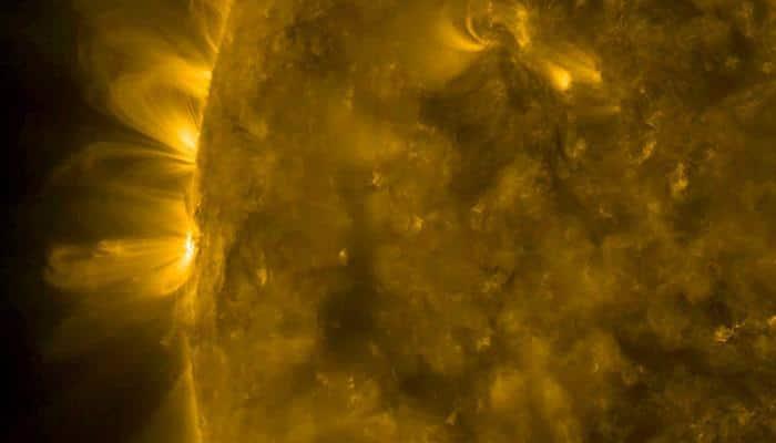 NASA's SDO captures Sun's beautiful magnetic arcs - Watch