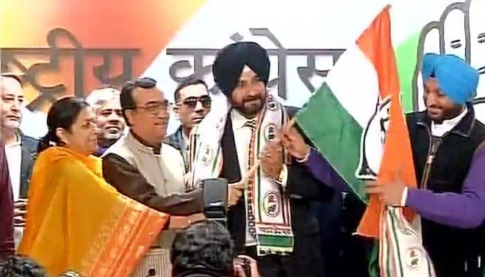 I'm a born Congressman, joining Congress is my 'ghar wapsi': Navjot Singh Sidhu