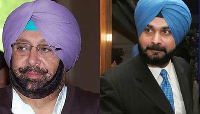 Is all well within Congress' Punjab unit? Amrinder Singh absent from Navjot Singh Sidhu's press conference