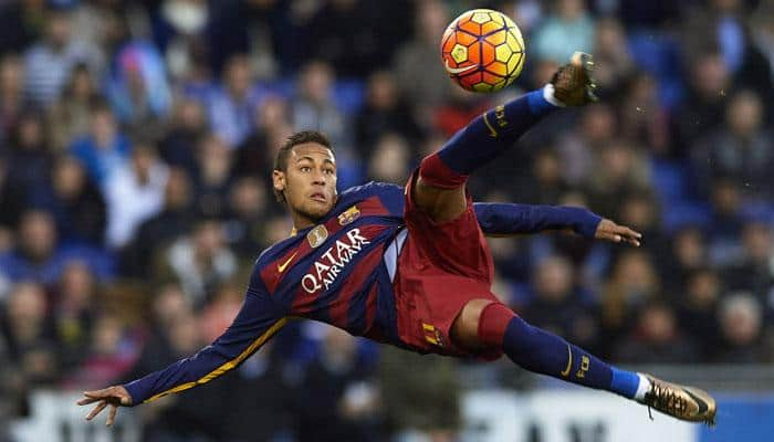 Copa del Rey: Neymar penalty helps Barcelona beat Real Sociedad 1-0; Atletico Madrid edge past Eibar 3-0