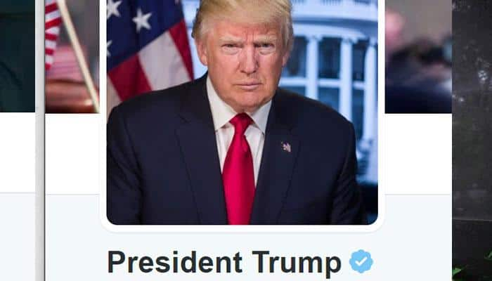 Twitter apologies for glitch forcing users to follow President Donald Trump