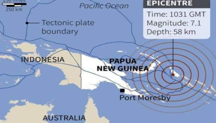 7.9-magnitude earthquake strikes Papua New Guinea, tsunami alert rescinded