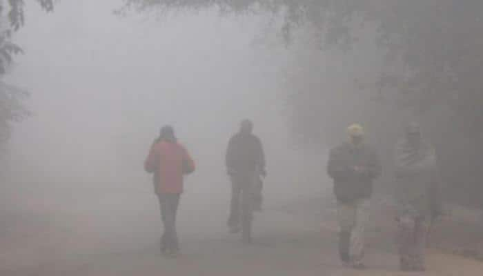 Cold wave conditions in north India, sunny day in east