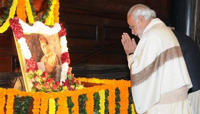 This is how PM Narendra Modi saluted Netaji Subhas Chandra Bose on his birth anniversary