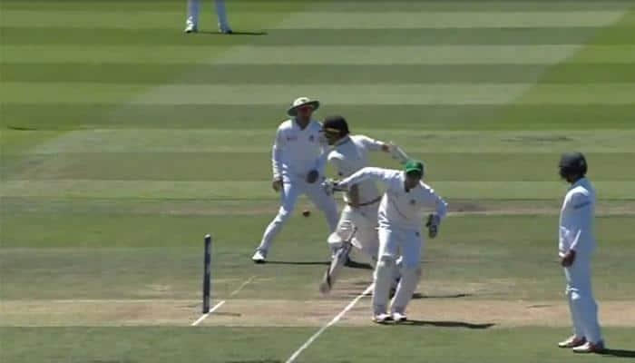 WATCH: Kiwi batsman Neil Wagner given run-out despite reaching crease before ball hit the stumps