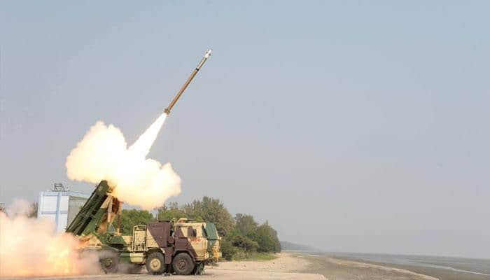 India conducts second successful test of Guided Pinaka Rocket from ITR launch pad in Odisha