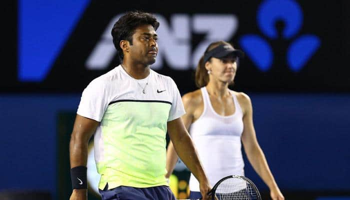 Aus Open: Defending champions Leander Paes-Martina Hingis knocked out, lose to Sam Groth- Samantha Stosur