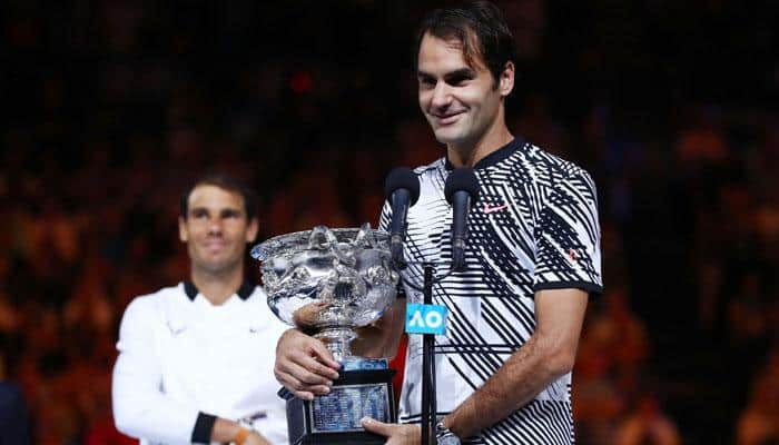 Australian Open 2017: Roger Federer beats old nemesis Rafael Nadal in epic five-setter to clinch record-extending 18th Grand Slam