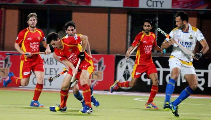 Hockey India League: SV Sunil stars in Punjab Warriors' 7-0 win over Ranchi Rays