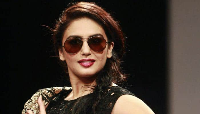 Scared of heights, Huma Qureshi does aerial yoga