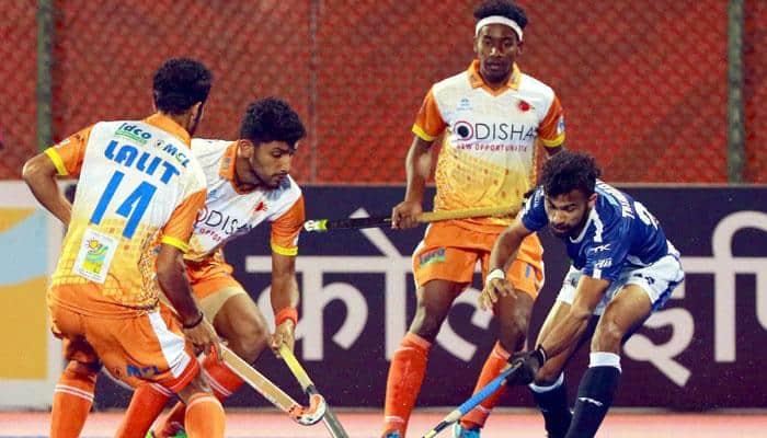 HIL 2017: Punjab Warriors pip Delhi Waveriders 3-2 to climb up to 4th spot