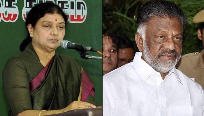 VK Sasikala breaks silence, says DMK behind Panneerselvam's revolt