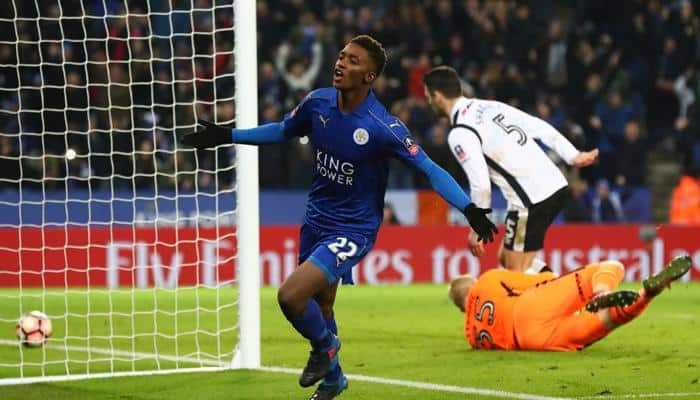 Relief for Claudio Ranieri as Wilfred Ndidi rocket downs Derby County