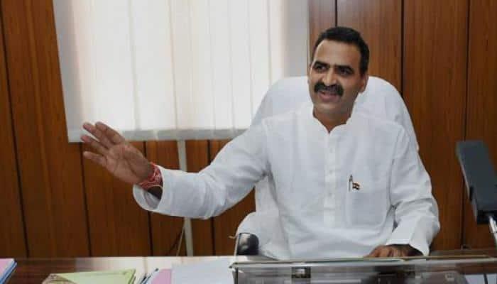 BJP MP Sanjeev Balyan casts vote in Muzaffarnagar