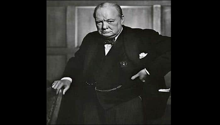Ruminations of a world leader: Winston Churchill's 1939 essay on the extraterrestrial unearthed!