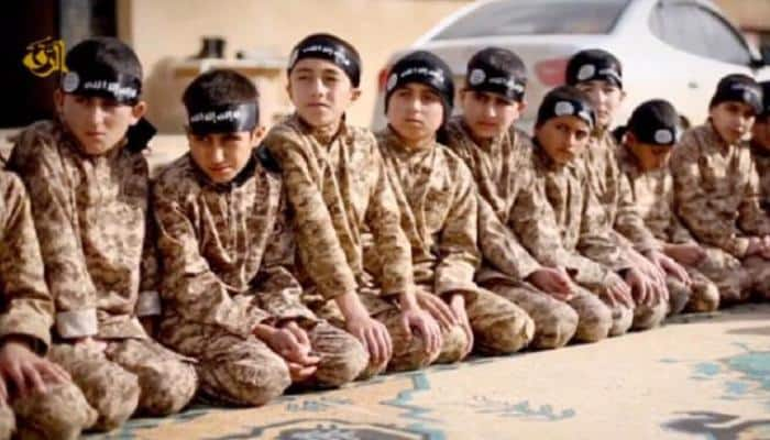 'A for Apple, B for Bomb' - How Islamic State groomed child soldiers