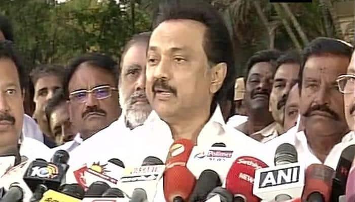 FIR filed against DMK leader Stalin for protest against trust vote at Chennai's Marina Beach