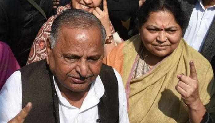 Mulayam's wife Sadhna denies rift in family, says no step-motherly treatment to Akhilesh