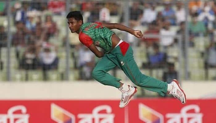 Bangladesh recall 'fit-again' pacer Mustafizur Rahman for Test series against Sri Lanka