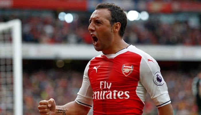 Premier League: Injured Arsenal midfielder Santi Cazorla out for rest of season