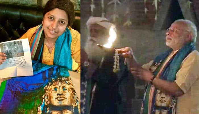 THIS girl wanted Narendra Modi's 'Shiva stole', she tweeted her wish; you won't believe what PM did!