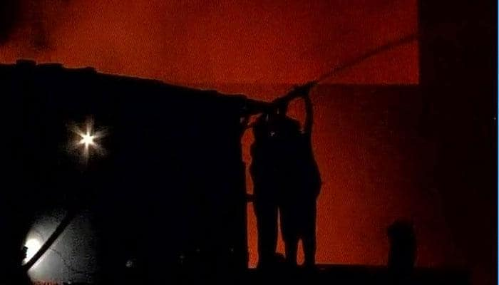 Massive fire at Kolkata's Burabazaar: Flames not doused even after 12 hours, 30 fire tenders on spot