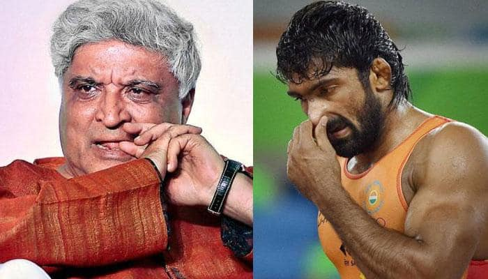 Yogeshwar Dutt takes a dig at Javed Akhtar after being called 'a hardly literate wrestler'