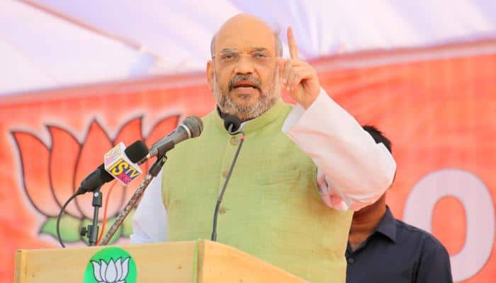 Amit Shah promises to end economic blockade in Manipur