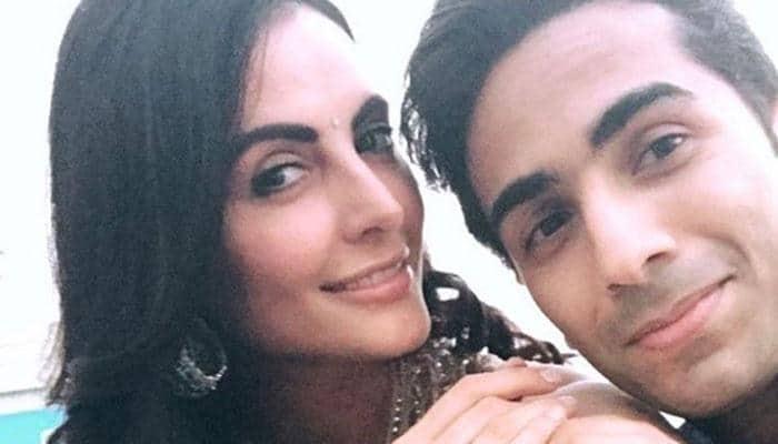 Mandana Karimi gets married to Gaurav Gupta in traditional Indian style